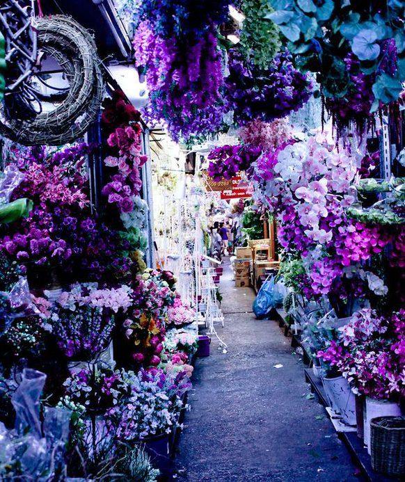 bloemenmarkt Pak Khlong