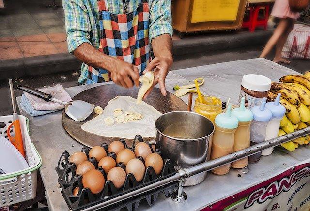 culinair genieten op straat