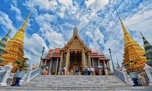 Koninklijk Paleis in Bangkok