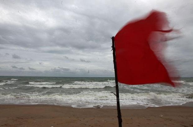 Slecht weer in Zuid-Thailand voorspeld