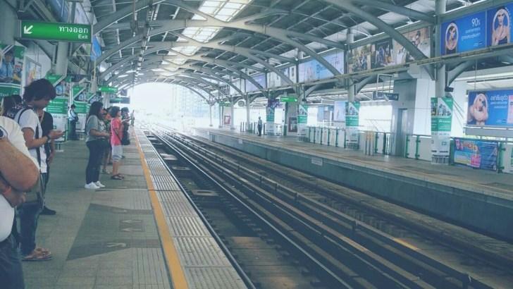 Regels voor de BTS Skytrain in Bangkok