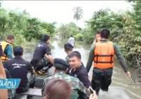 Doden door overstromingen in Zuid-Thailand