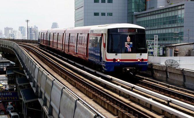 Dezelfde naam voor BTS Skytrain en metrostations
