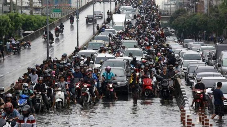 Bangkok en haar overstromingen: wanneer houdt het op?