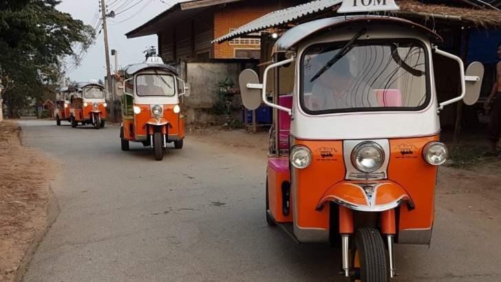 Zelf tuk-tuk rijden door Thailand
