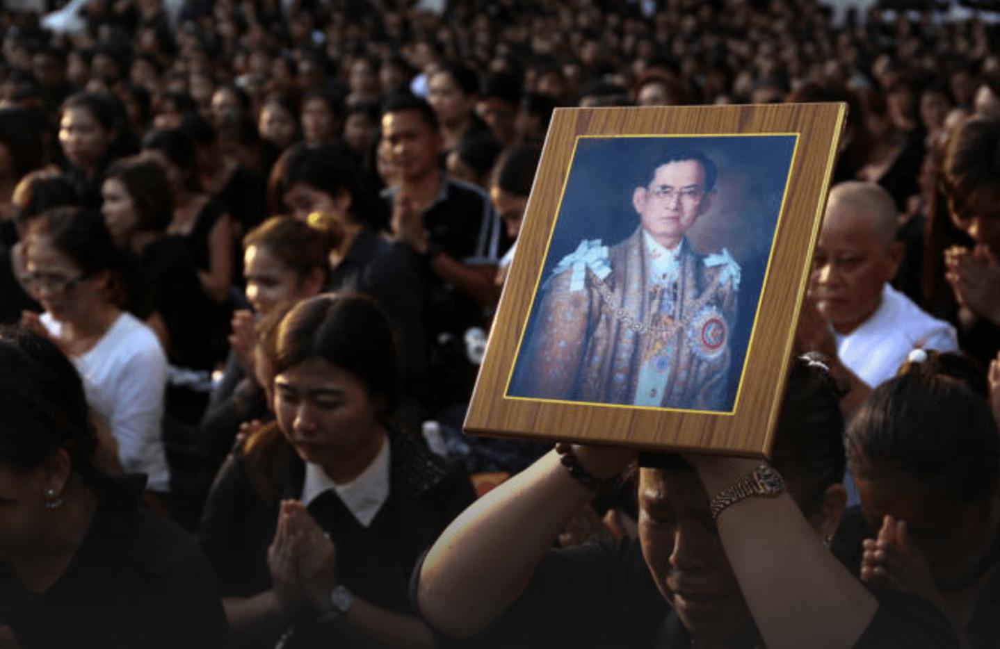 beledig het thaise koningshuis niet
