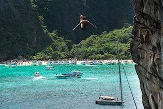 cliffjumpen in thailand