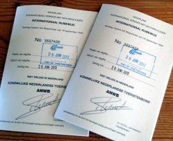 Internationaal rijbewijs in Thailand