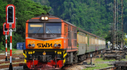 Met de trein door Thailand