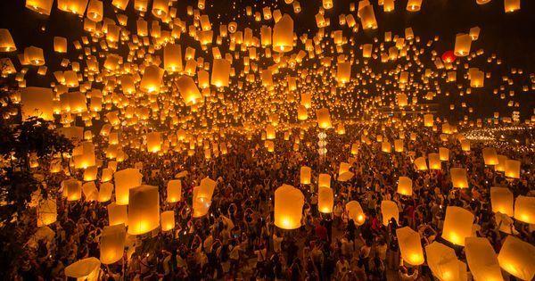 Yi Peng festival in Chiang Mai uitverkocht