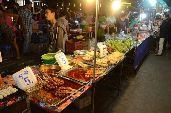 streetfood in kanchanaburi