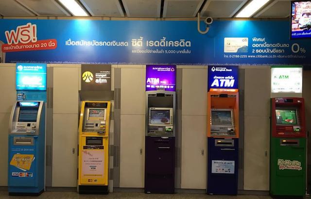 Tips voor geld pinnen in Thailand