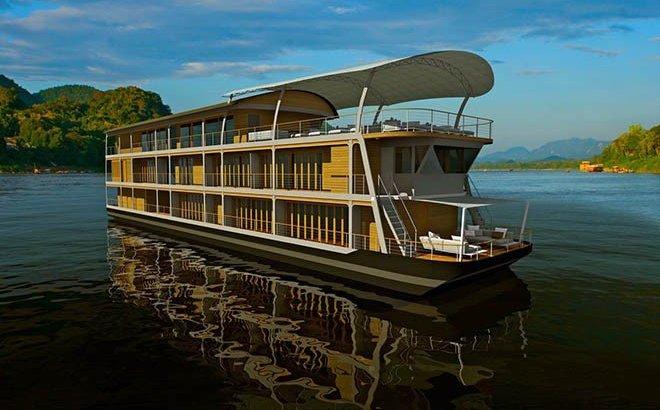 Een luxe cruise op de Mekong