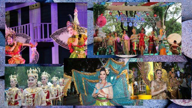 Thailand Tourism Festival 2018 in Lumpini Park Bangkok