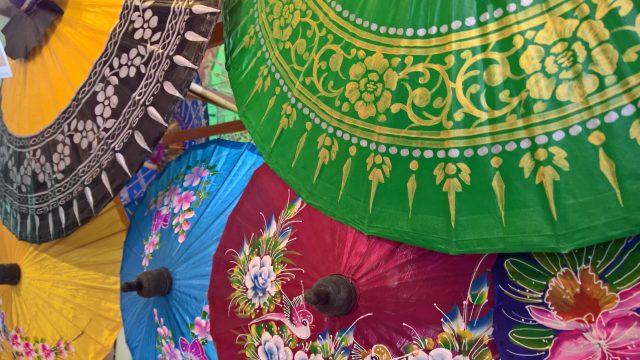 parasols van Bo Sang