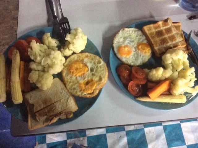 ontbijt in Thailand