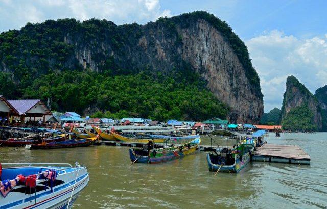 Een bezoek brengen aan Koh Panyi, the water village