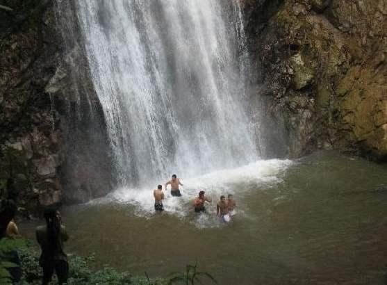 Khun Korn waterval in Chiang Rai
