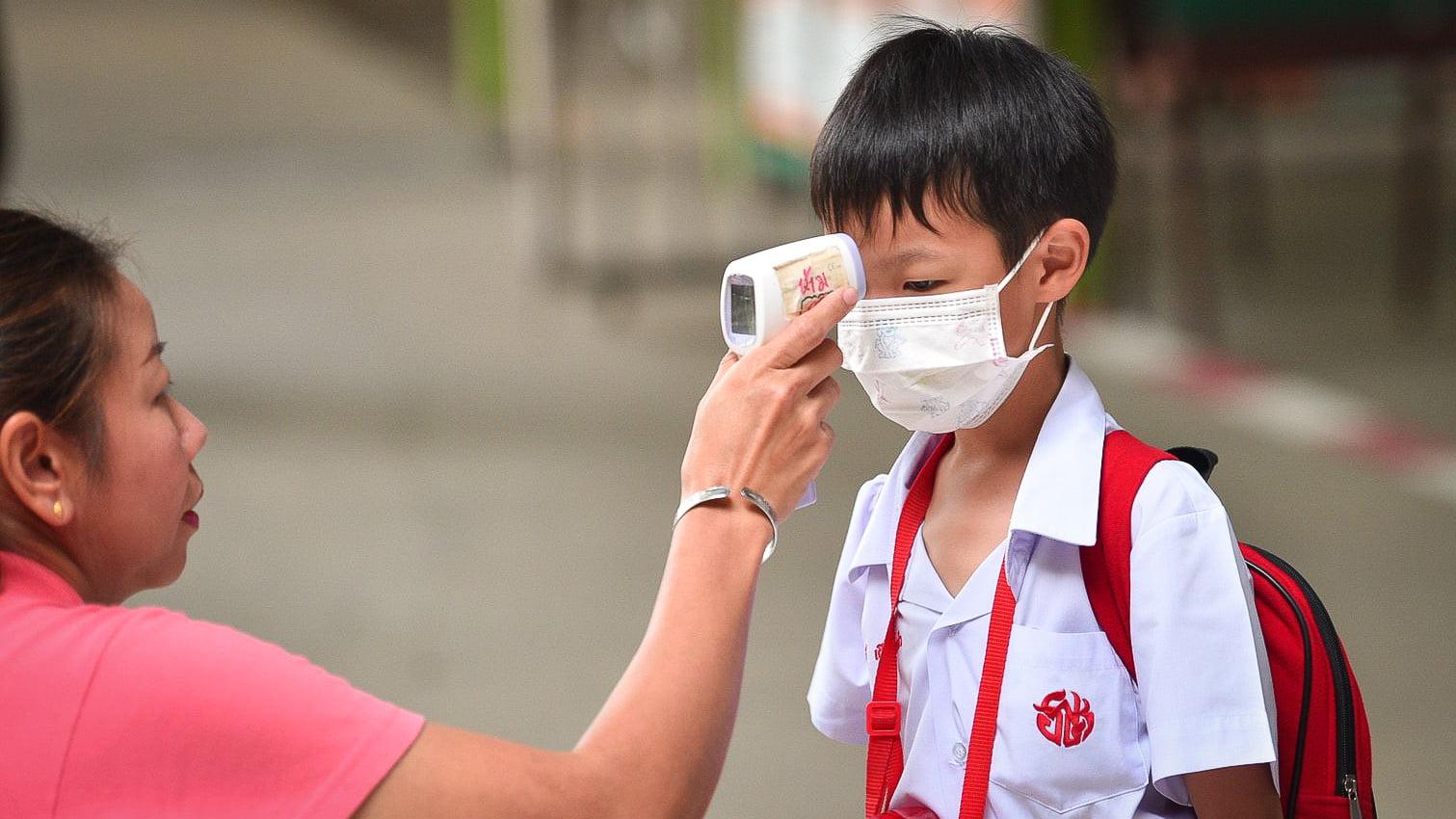 Luchtvervuiling over Bangkok