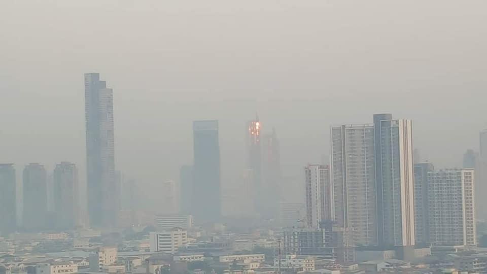 luchtvervuiling in bangkok