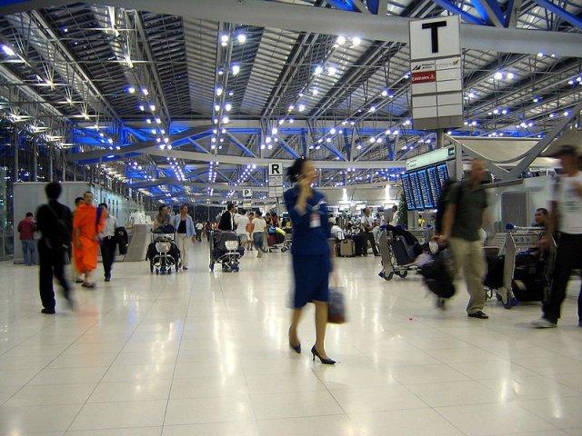 Geland op Bangkok