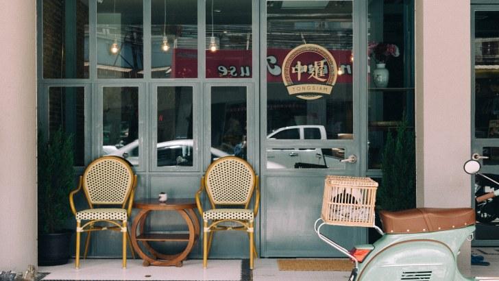 Tong Siam in Chiang Rai, een mix tussen hotel en hostel