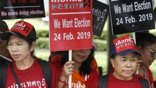Verkiezingen in Thailand