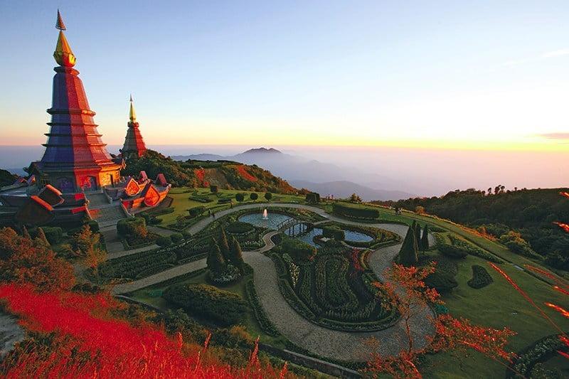 Mijd noord-Thailand