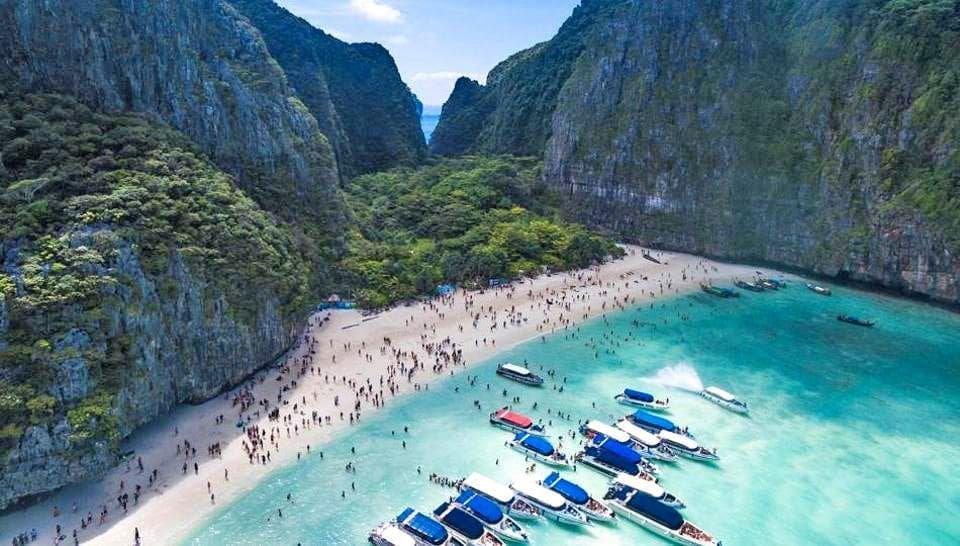 Maya Bay nog minimaal 2 jaar dicht