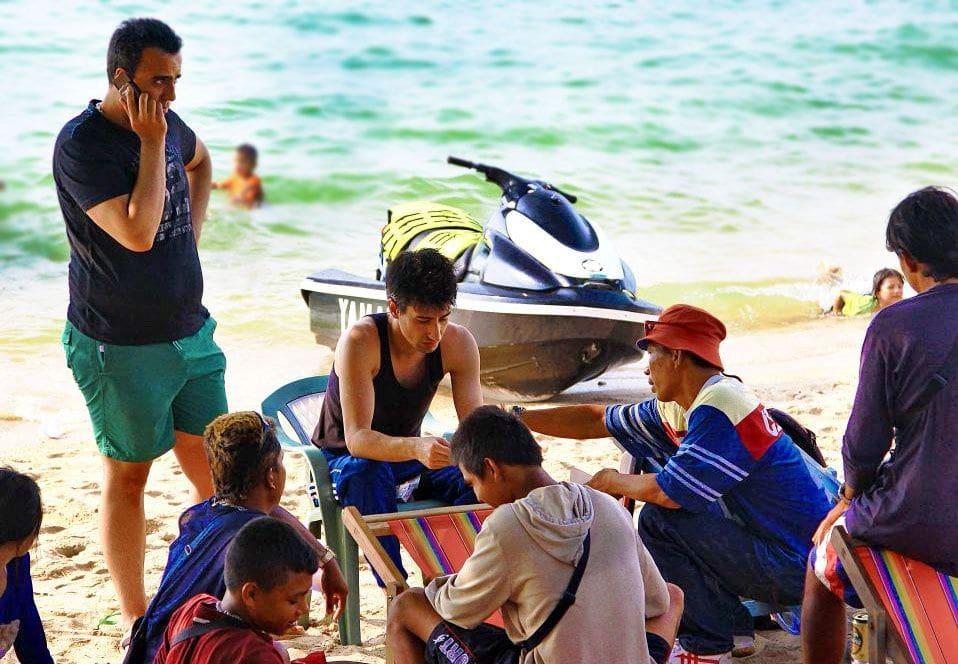 oplichten van toeristen in thailand