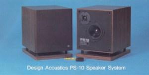 Design Acoustics PS10 Speaker System Review price specs  HiFi Classic