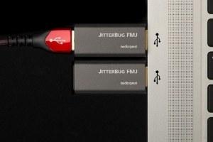 Audioquest stellt seinen neuen JitterBug FMJ vor