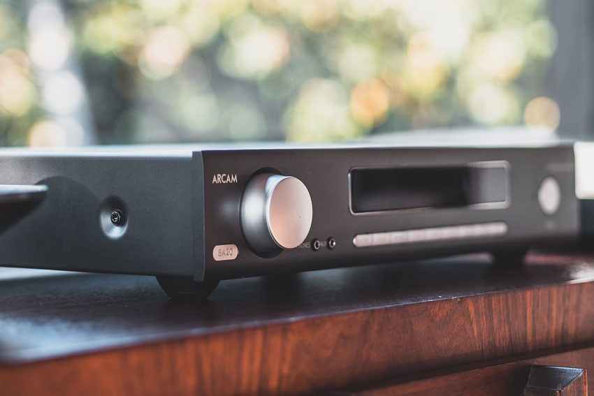 Arcam SA20 Integrated Amplifier Review 05