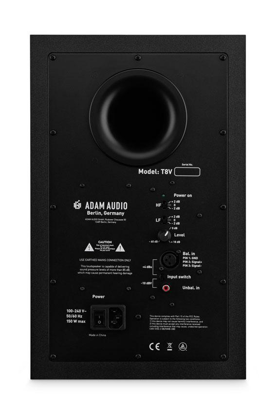 Adam Audio T8V Studiomonitor 03