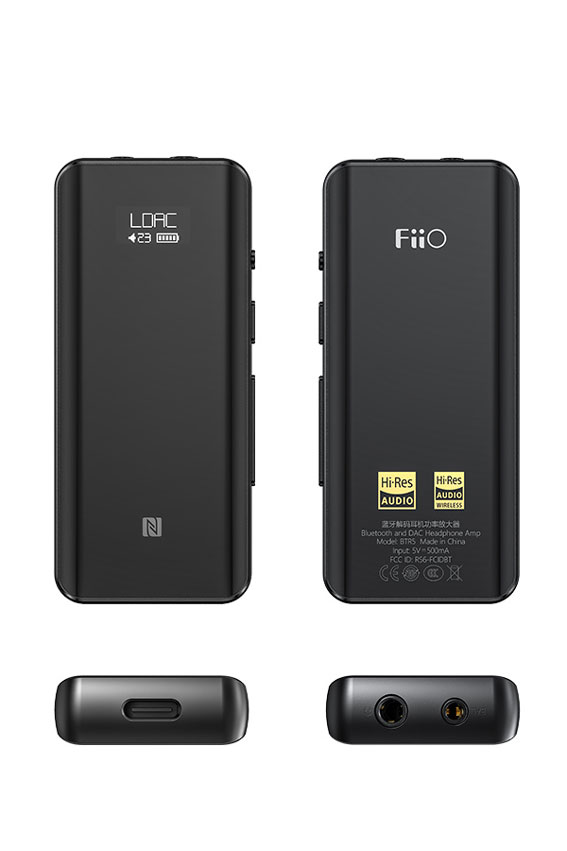 FiiO BTR5 Flagship Portable High Fidelity Bluetooth Amplifier 10 1