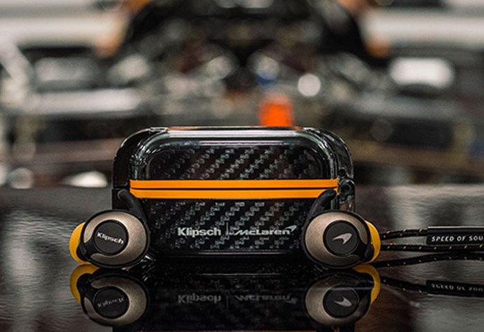 Klipsch T5 II True Wireless Sport Earphone McLaren Edition