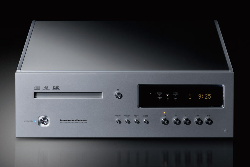 Luxman D 10X Super Audio CD Player 01