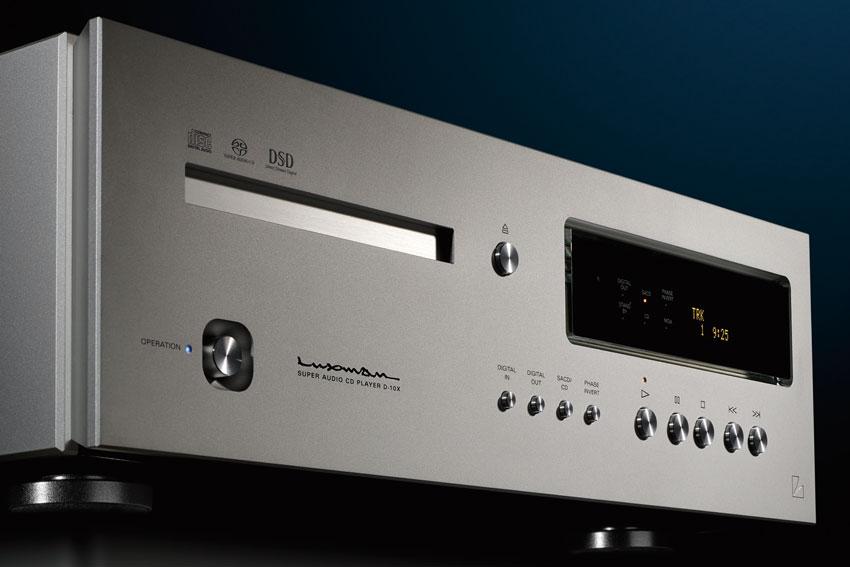 Luxman D 10X Super Audio CD Player 02