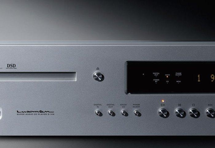 Luxman D-10X Super Audio CD Player