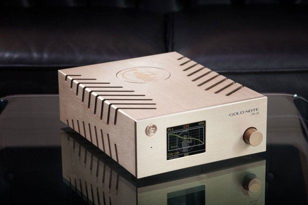 Gold Note PH 10 Phono Stage im Test 01