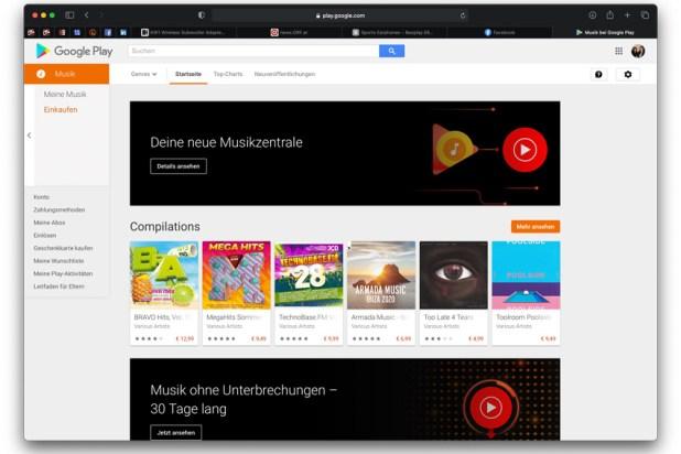 YouTube Music ersetzt Google Play Music 01