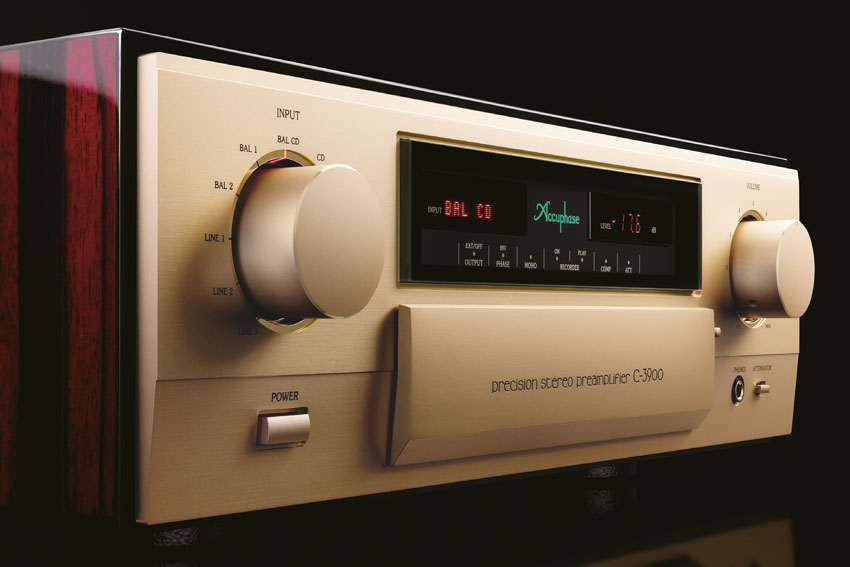 Accuphase C 3900 Precision Stereo Preamplifier 01