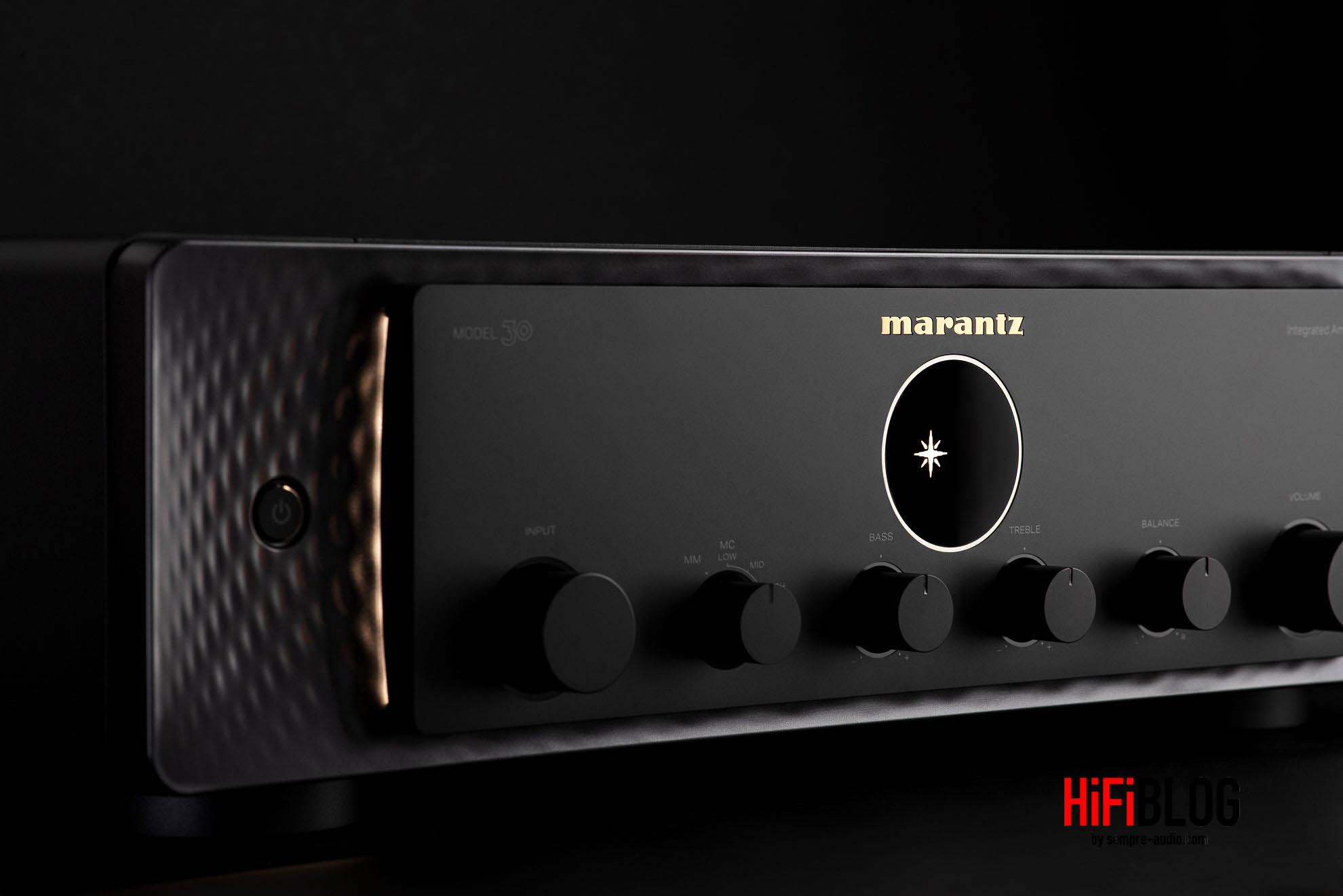 Marantz Model 30 Integrated Amplifier and SACD 30n Network SACD Player 1