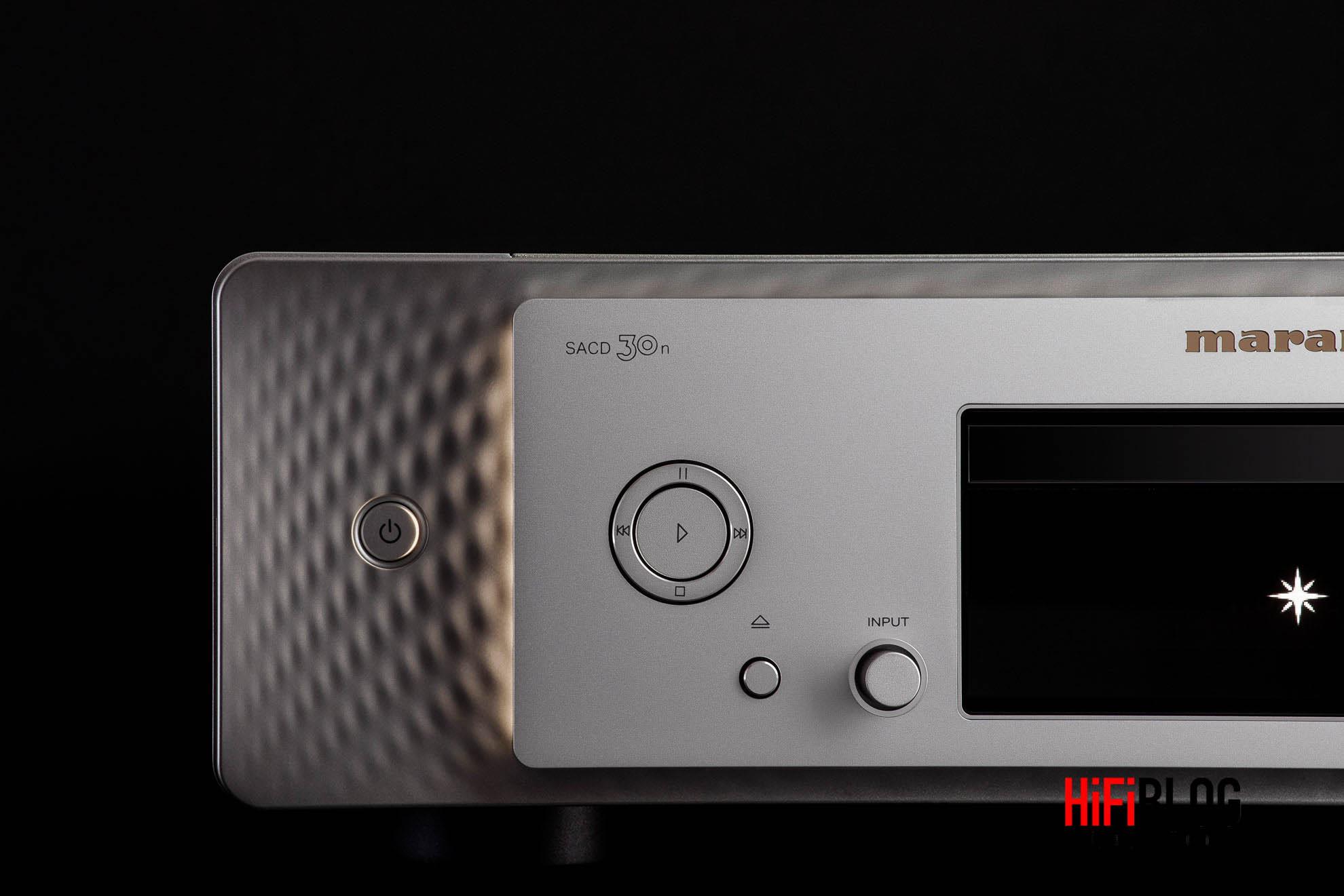 Marantz Model 30 Integrated Amplifier and SACD 30n Network SACD Player 40