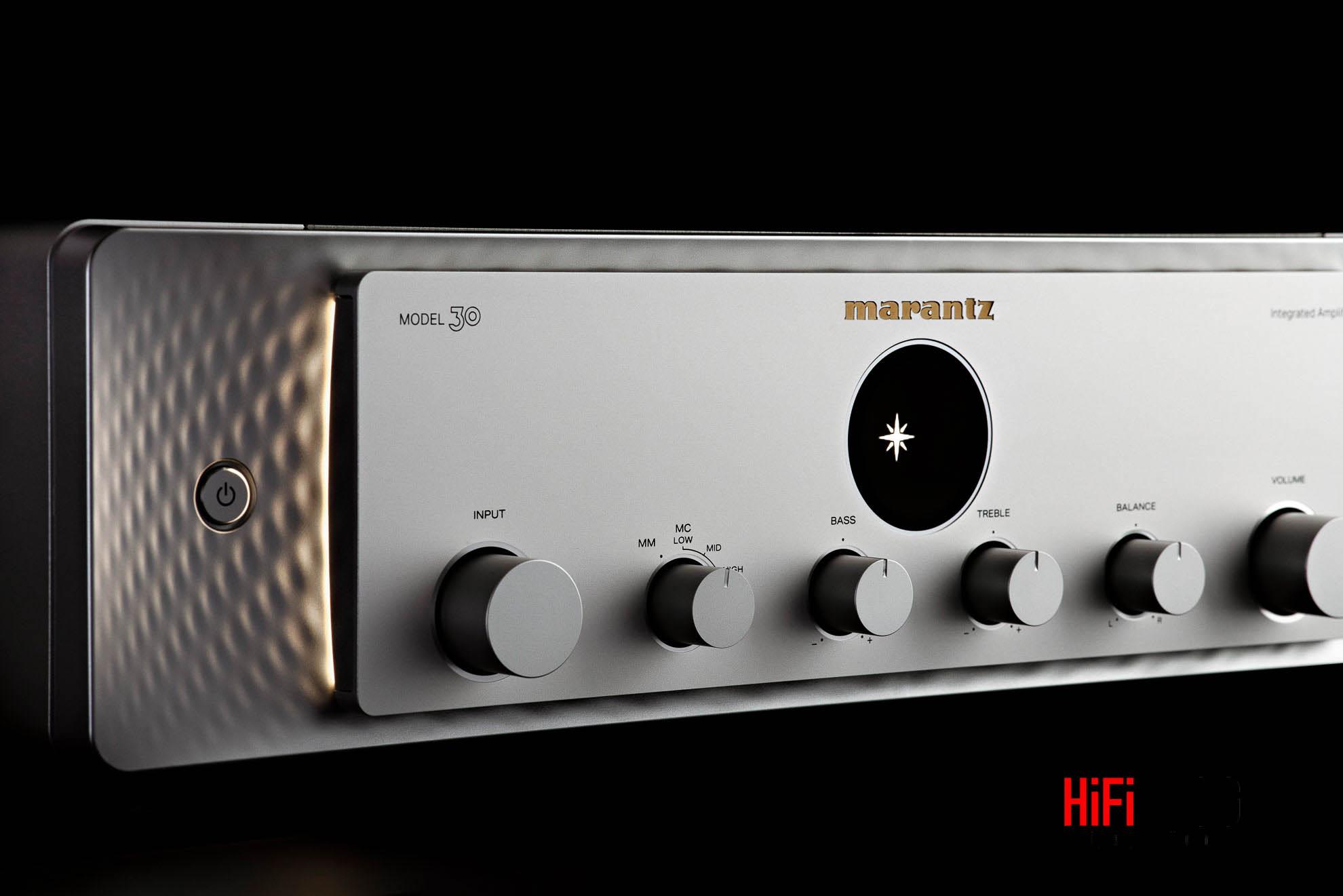 Marantz Model 30 Integrated Amplifier and SACD 30n Network SACD Player 5