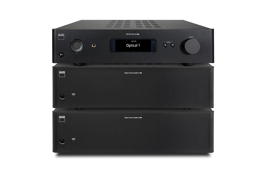 NAD C 298 Power Amplifier 6