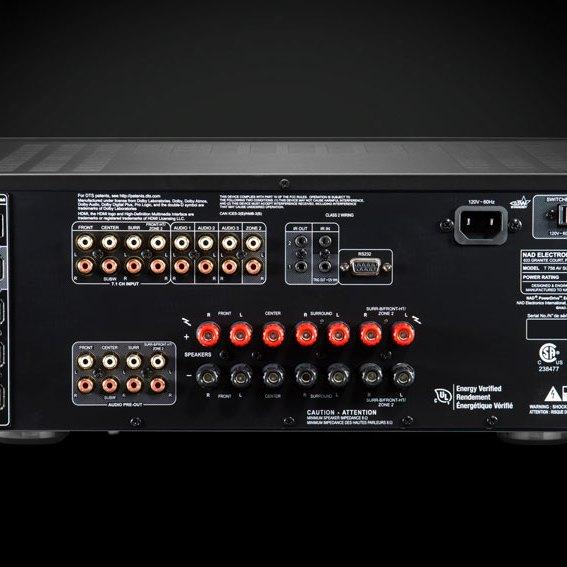 NAD T758 V3i AV Surround Sound Receiver 03