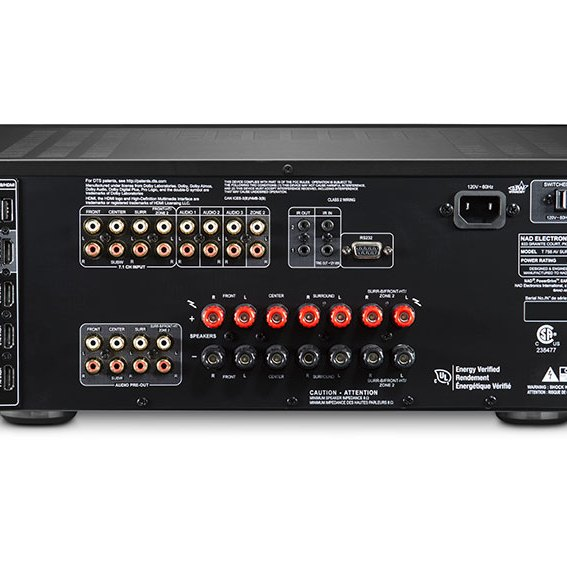NAD T758 V3i AV Surround Sound Receiver 08