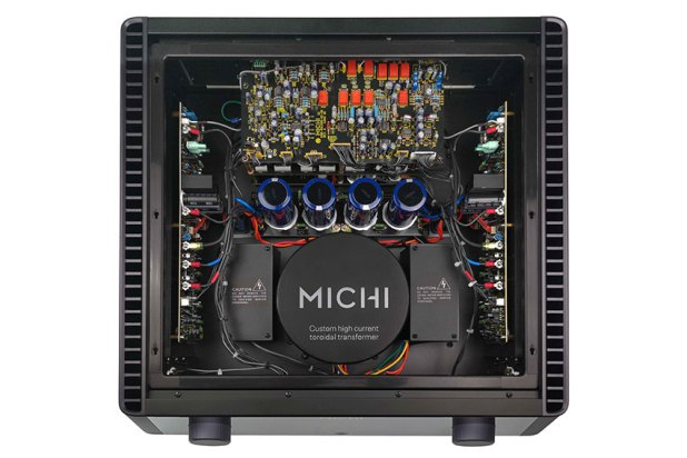 Rotel MICHI X3 Integrated Amplifier and Rotel MICHI X5 Integrated Amplifier 09