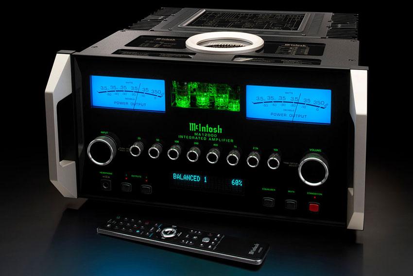 McIntosh MA12000 2 Channel Hybrid Integrated Amplifier 06